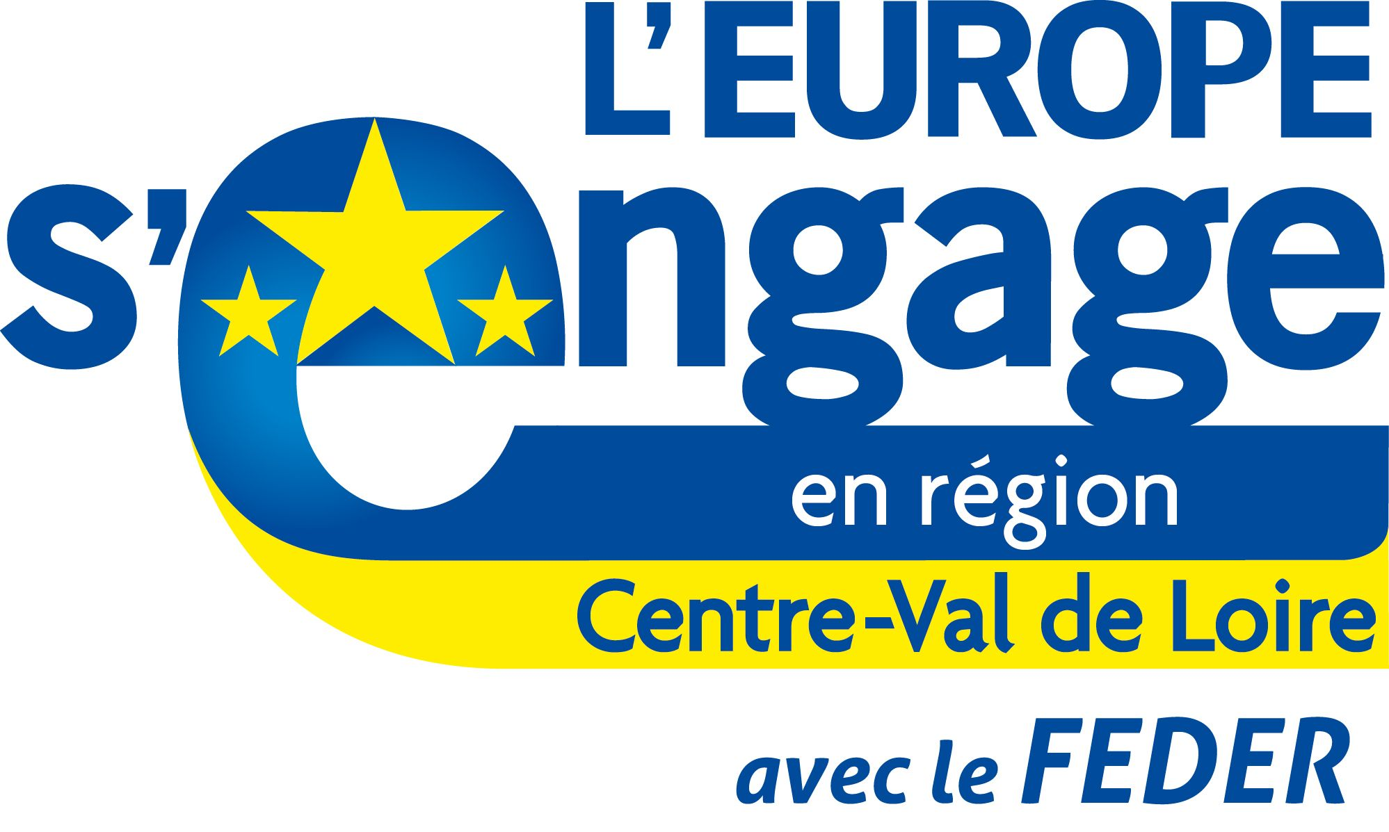 Logo L'Europe s'engage en région